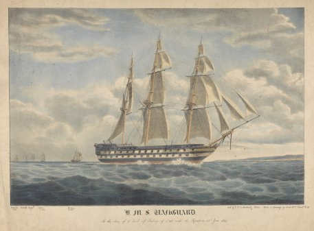 The real H.M.S. Vanguard